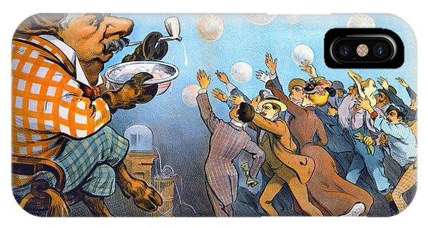Minotaur iPhone Case - John Pierpont Morgan by Granger