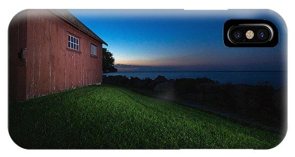 Kingsville iPhone Case - John R. Park Homestead - Sunrise by Cale Best