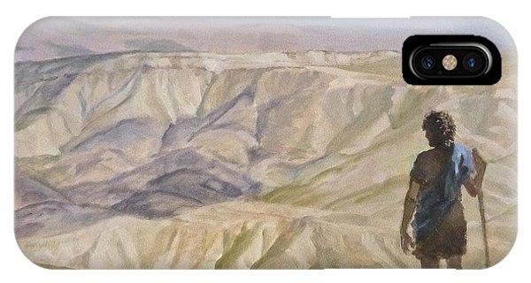 John The Baptist In The Desert IPhone Case