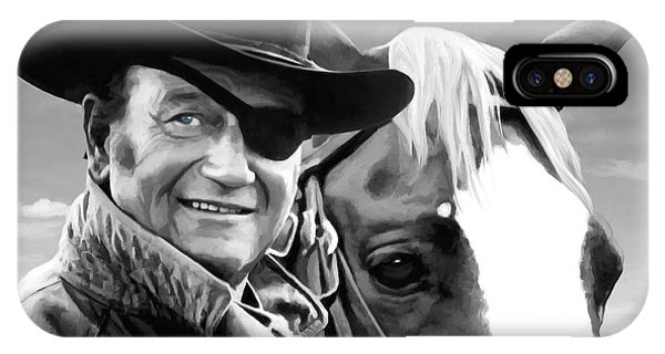 John Wayne @ True Grit #1 IPhone Case