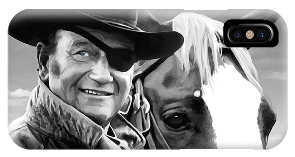 John Wayne @ True Grit #1 IPhone Case