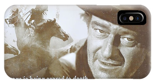 John Wayne - The Duke IPhone Case