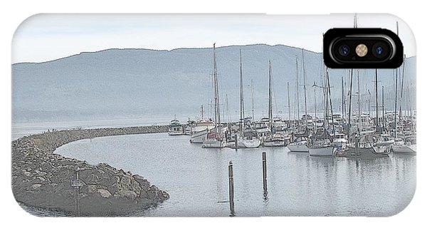John Wayne's Marina Sketch IPhone Case