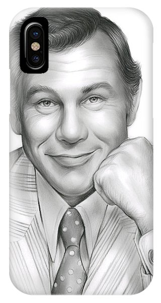 Johnny Carson IPhone Case
