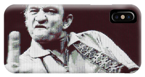 Johnny Cash iPhone Case - Johnny Cash Beer Cap Mosiac by Dan Sproul