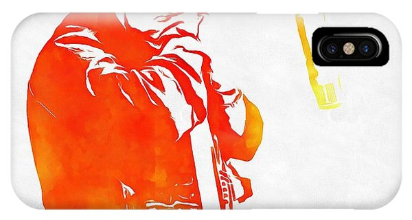 Johnny Cash iPhone Case - Johnny Cash by Dan Sproul