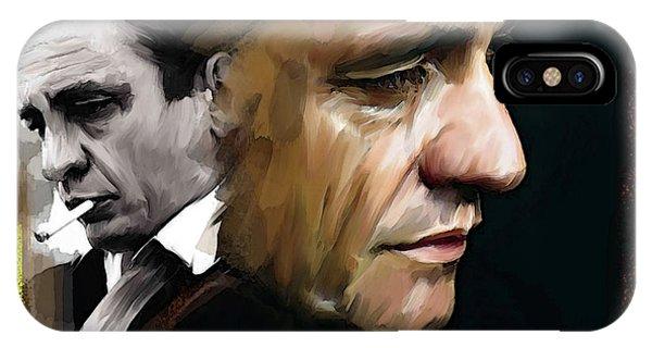Johnny Cash  Hurt IPhone Case