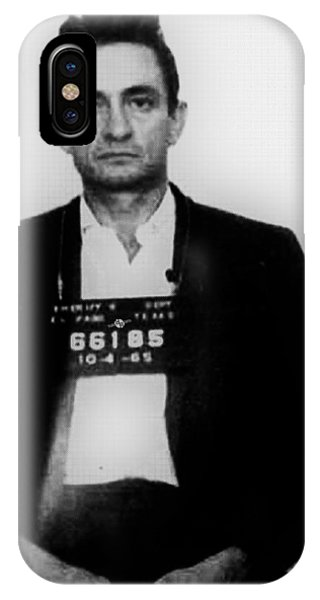 Johnny Cash Mug Shot Vertical IPhone Case