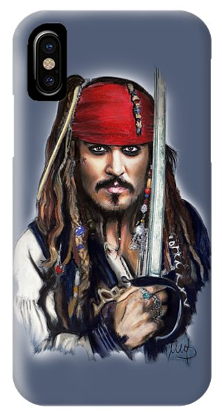 Johnny Depp As Jack Sparrow IPhone Case
