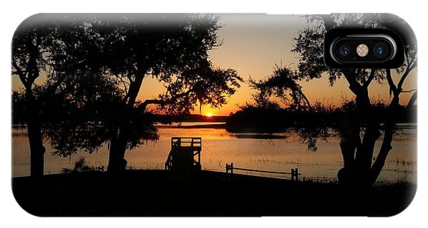 Johns Island Sunset IPhone Case