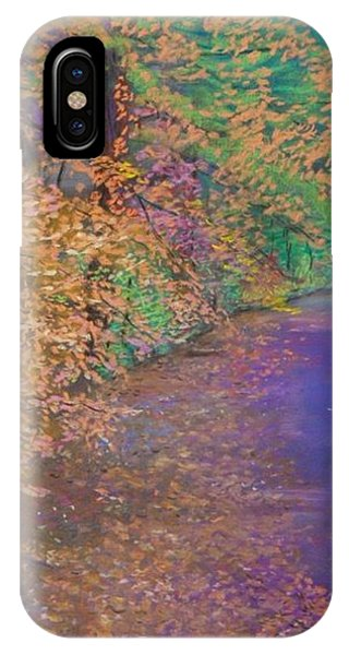 John's Pond In The Fall IPhone Case