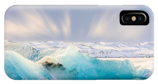 Jokulsarlon Glacier Lagoon IPhone Case