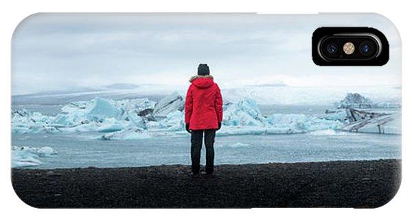 Glacier Bay iPhone Case - Jokulsarlon  by Michael Ver Sprill