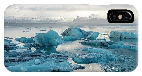 Jokulsarlon, The Glacier Lagoon, Iceland 6 IPhone Case