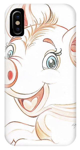 Jolly Miss Piggy IPhone Case