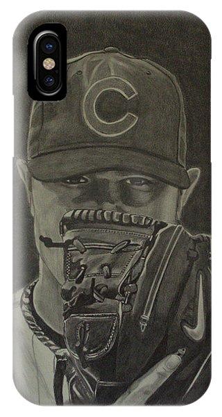 Jon Lester Portrait IPhone Case