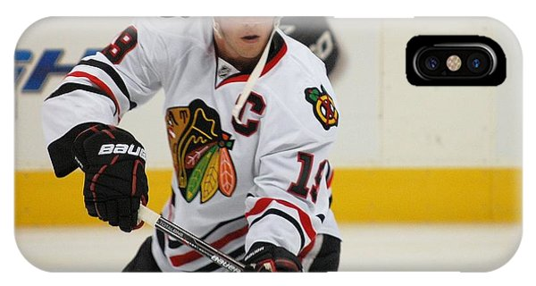 Jonathan Toews - Action Shot IPhone Case