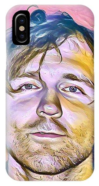 Jonathon Good Portrait IPhone Case