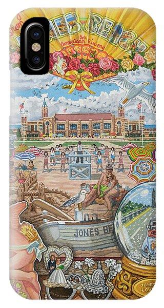 Jones Beach Love Story IPhone Case