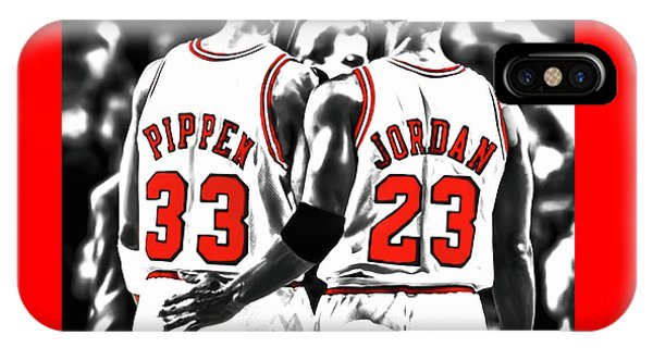 Jordan And Pippen 23c IPhone Case