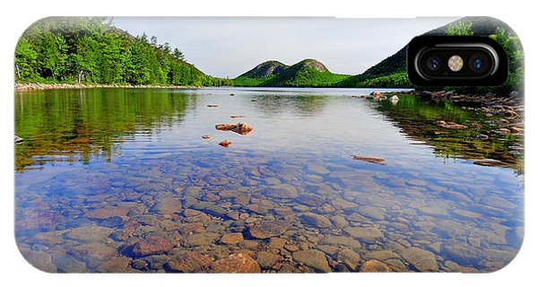 Jordan Pond And The Bubbles IPhone Case