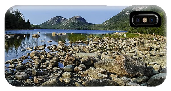 IPhone Case featuring the photograph Jordan Pond No.1 by Mark Myhaver