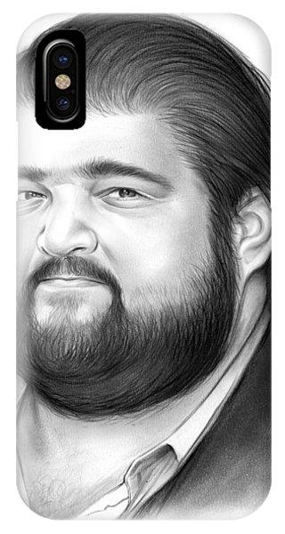0 iPhone Case - Jorge Garcia by Greg Joens