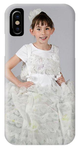 Josette In Dryer Sheet Dress IPhone Case