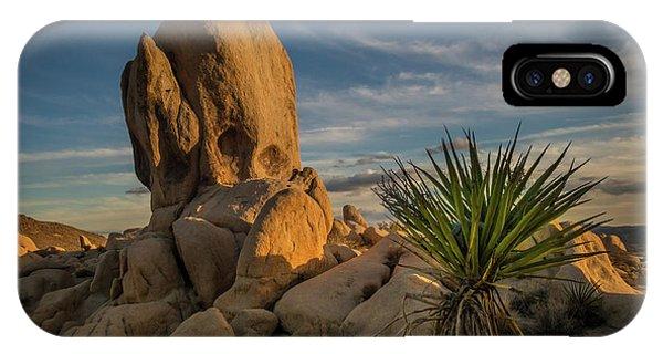Joshua Tree Rock Formation IPhone Case