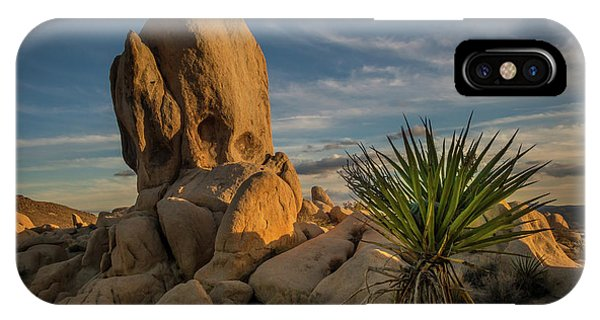 Joshua Tree Rock Formation IPhone Case