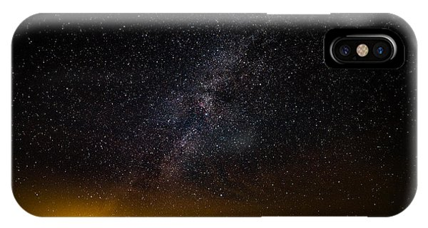 IPhone Case featuring the photograph Joshua Tree's Fiery Sky by T Brian Jones
