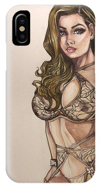 Josie Pinup IPhone Case