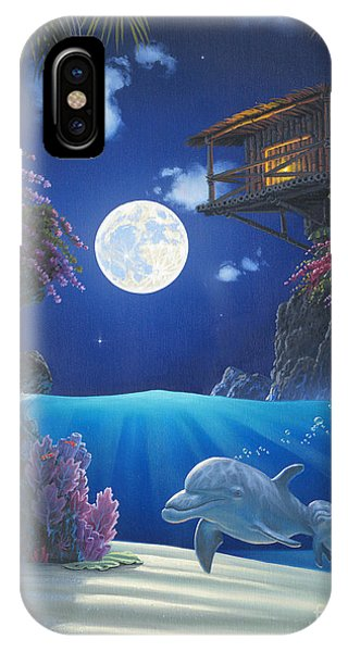 Journey In Paradise IPhone Case