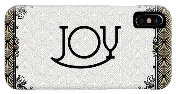 Joy - Art Deco IPhone Case