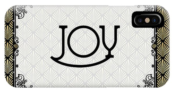 Joy - Art Deco IPhone Case