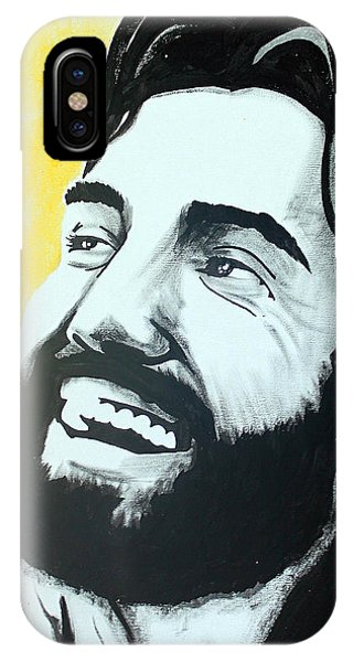 Laughing Jesus iPhone Case - Joy - Jesus Smiling And Laughing by Lance Brown