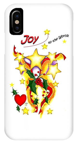 Joy To The World IPhone Case