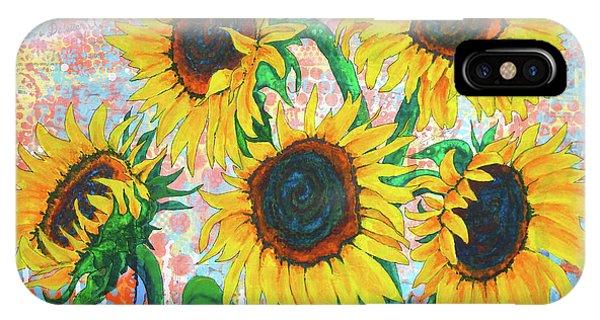 Joy Of Sunflowers Desiring IPhone Case