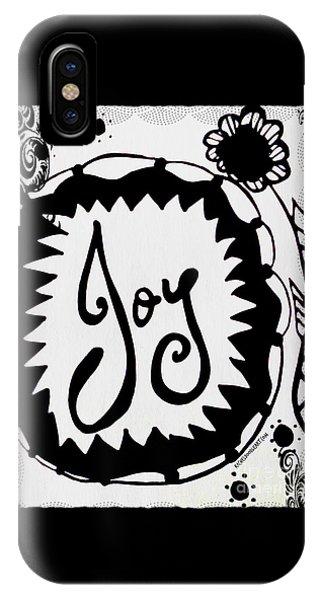 IPhone Case featuring the drawing Joy by Rachel Maynard