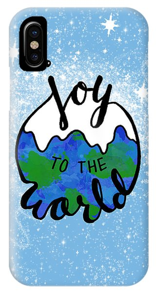 Holiday iPhone Case - Joy To The World by Michelle Eshleman