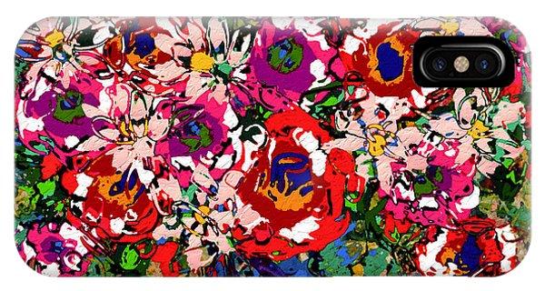Mustard iPhone Case - Joyful Floral by Natalie Holland