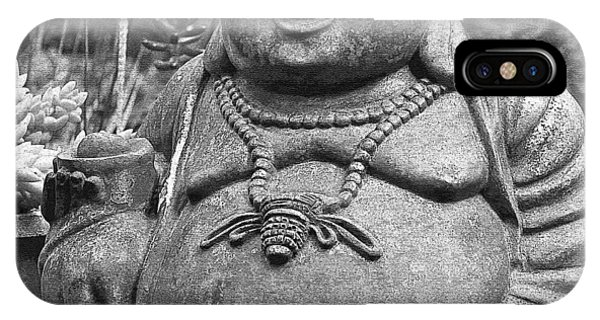 Joyful Lord Buddha IPhone Case