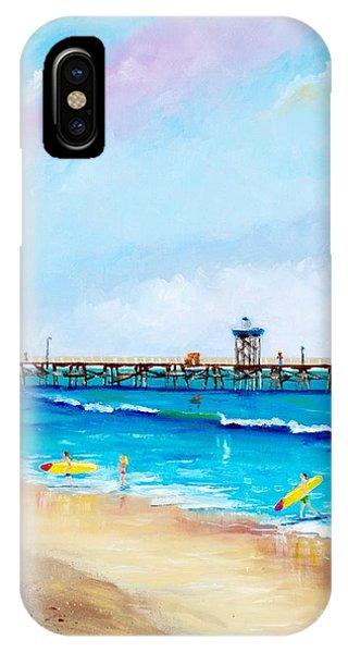 Jr. Lifeguards IPhone Case