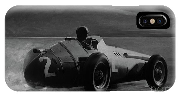 Juan Manuel Fangio IPhone Case