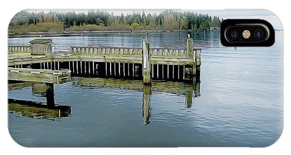 Juanita Bay In Gray IPhone Case