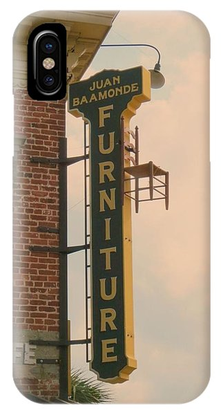 Ben Affleck iPhone Case - Juan's Furniture Store by Robert Youmans