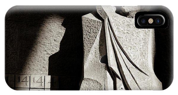 Gaudi iPhone Case - Judas Treason by Dave Bowman