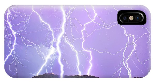 Judgement Day Lightning IPhone Case
