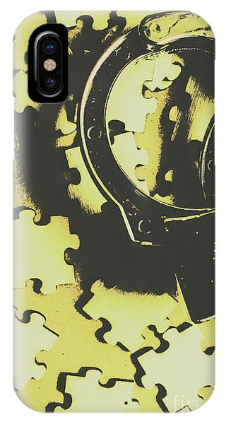 Trial iPhone Case - Judicial Jigsaw by Jorgo Photography - Wall Art Gallery
