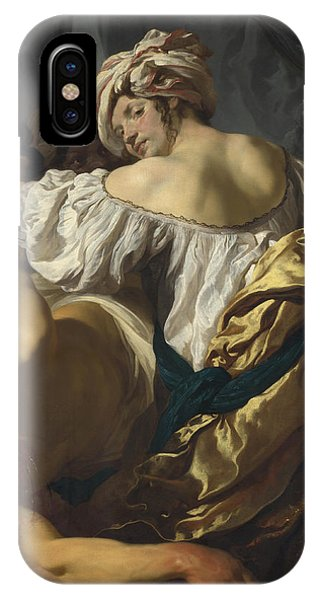 Judith In The Tent Of Holofernes IPhone Case